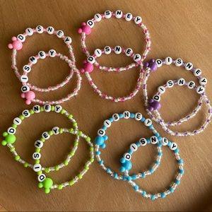 Hand made Disney bracelets